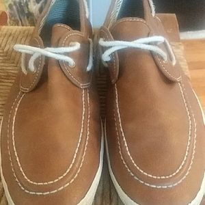 Used Aldo Men camel leather casual shoes
